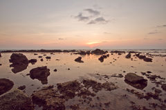 Morze i plaża Zdjęcia Royalty Free