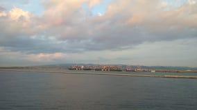 Morze i port w Hiszpanii zbiory wideo
