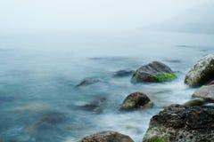 Morze i skała zdjęcia royalty free