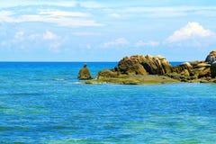 Morze i skała Zdjęcia Stock