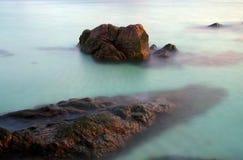 Morze i skała Obrazy Stock