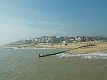 morze i southwold Zdjęcie Royalty Free