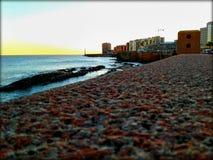 Morze i zmierzch Zdjęcie Stock