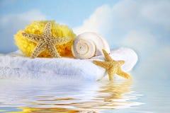 morze kadłuba ręcznik Zdjęcie Royalty Free
