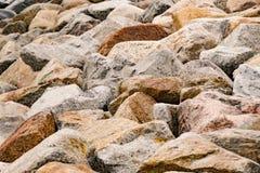 Morze kamień, natury tło Obraz Stock