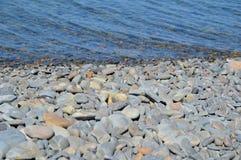 Morze kamienie, woda Obrazy Stock