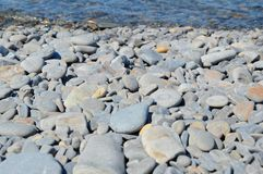 Morze kamienie, woda Fotografia Royalty Free