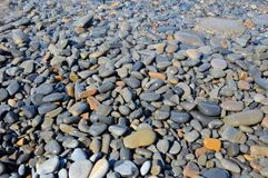 Morze kamienie, woda Obraz Royalty Free