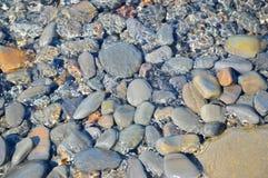 Morze kamienie, woda Zdjęcie Stock