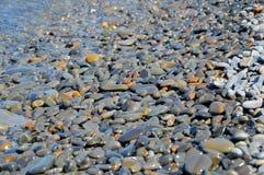 Morze kamienie, woda Zdjęcie Royalty Free