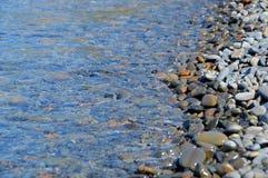 Morze kamienie, woda Obrazy Royalty Free