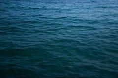 Morze Karaibskie i niebo niebo Obrazy Stock