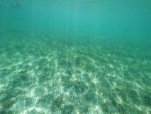 Morze Karaibskie rozłamu poziom Zdjęcie Royalty Free