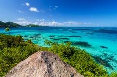 Morze Karaibskie widok obraz royalty free