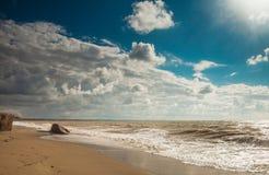 Morze krajobraz Fotografia Stock