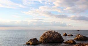 Morze krajobraz Zdjęcia Royalty Free