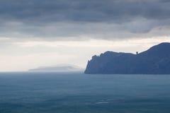 Morze krajobraz Obrazy Stock