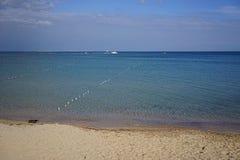 Morze krajobraz na letnim dniu Obrazy Stock