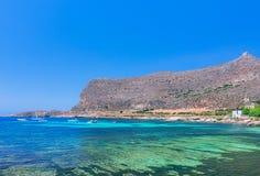 Morze krajobraz wyspa Favignana wyspa blisko Sicily obrazy royalty free