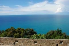 morze krajobrazu Zdjęcia Royalty Free