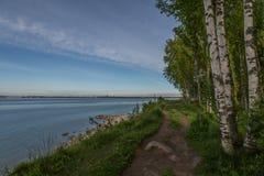 Morze krajobrazu, Tallinn zatoka Obraz Royalty Free