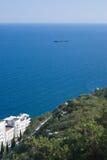 morze ślad Zdjęcie Royalty Free