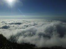 Morze mgła przy Pu zakładką Buek, Tajlandia Fotografia Royalty Free