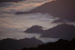 Morze mgła Zdjęcie Royalty Free