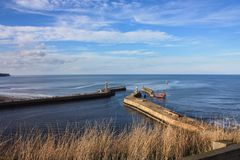 Morze most Zdjęcia Royalty Free