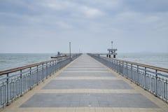 Morze most Zdjęcie Royalty Free
