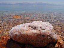 Morze nieżywa sól Fotografia Royalty Free