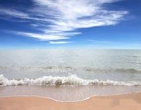 Morze nieba błękit Tajlandia Fotografia Stock