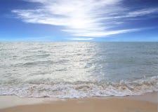 Morze nieba błękit Tajlandia Obrazy Royalty Free