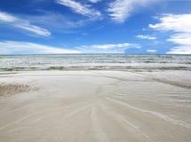 Morze nieba błękit Tajlandia Obraz Stock