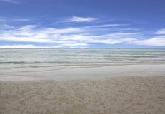 Morze nieba błękit Tajlandia Zdjęcia Stock