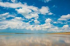 Morze niebo Obrazy Royalty Free