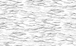 Morze, ocean, bezszwowy Obrazy Royalty Free