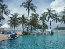 Morze, ocean, Karaiby, Andaman, plaża, kurort, Obrazy Stock