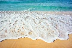 Morze plaża Fotografia Stock