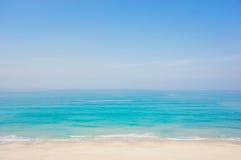 Morze plaża Fotografia Royalty Free