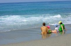 morze podziwiać Zdjęcia Stock