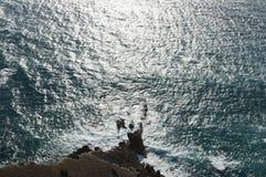 Morze powierzchnia Zdjęcie Royalty Free