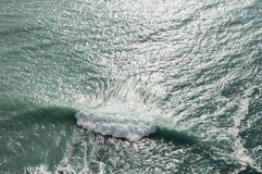 Morze powierzchnia Obrazy Stock