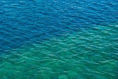 Morze powierzchnia. Obrazy Royalty Free