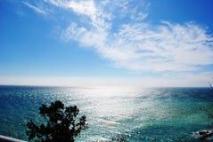 Morze powierzchnia Zdjęcia Royalty Free
