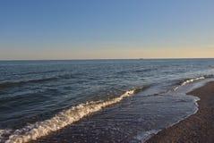 Morze przed zmierzchem Obrazy Royalty Free
