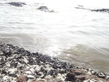 Morze Przy Mumbai zdjęcie stock