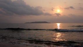 Morze przy wschodem słońca zdjęcie wideo