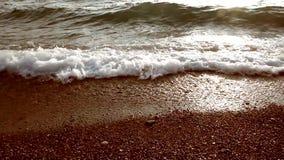 Morze Przy zmierzchem zbiory wideo