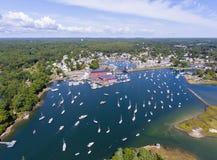 Morze, przylądek Ann, Massachusetts, usa obrazy stock